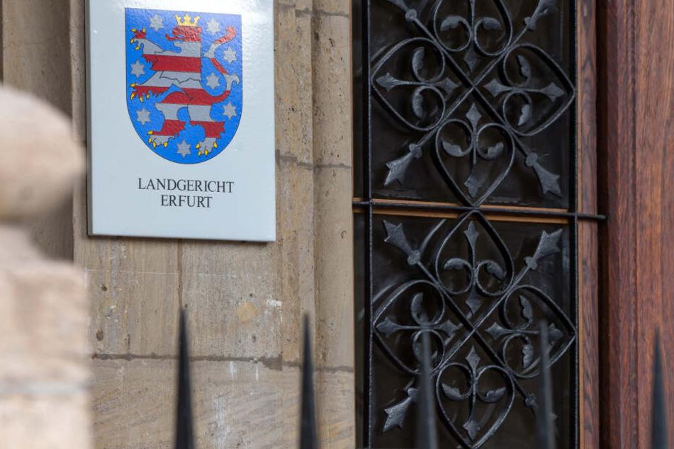 Vor dem Landgericht in Erfurt wird der Fall behandelt.