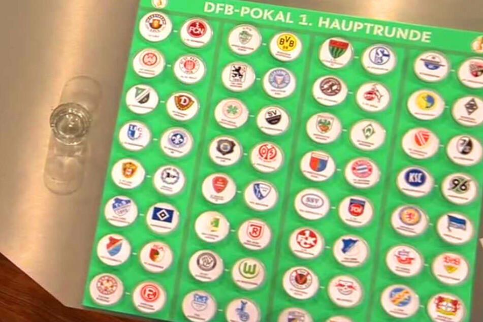 Die Begegnungen der 1. Hauptrunde im DFB-Pokal stehen fest!