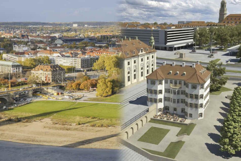 Neustädter Markt in Dresden: Was bleibt vom mühsam erarbeiteten Sieger-Entwurf?