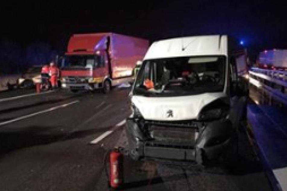 Schwerer Unfall Auf Der A14 Mit Drei Verletzten Autobahn Wieder Frei