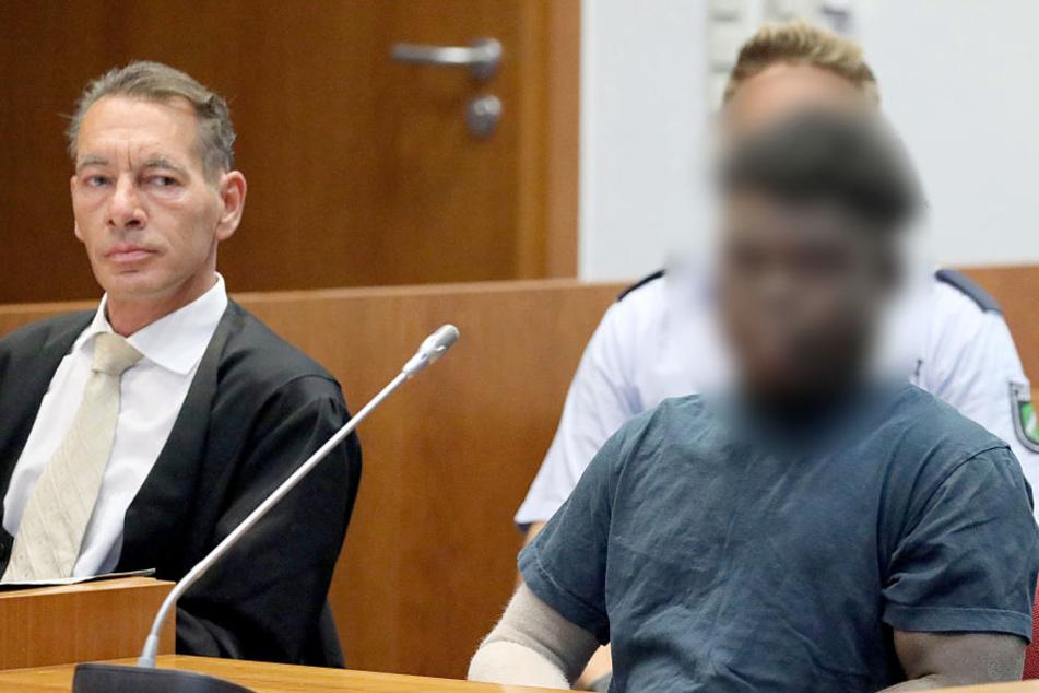 Der verurteilte Vergewaltiger (gepixelt) steht erneut vor Gericht.