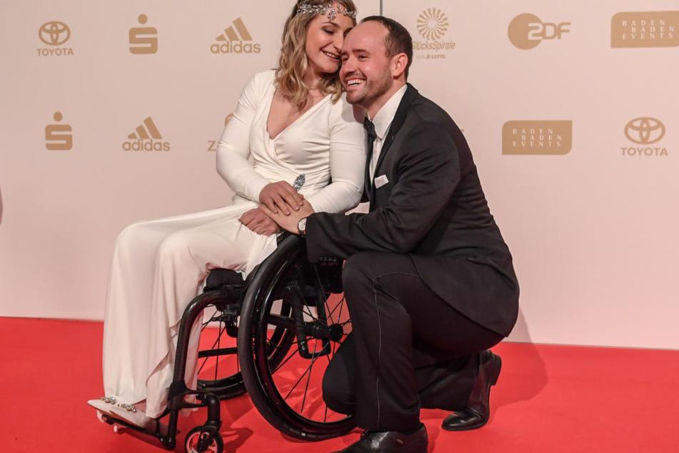Gemeinsam mit ihrem Freund Michael, wohnt Kristina Vogel in Erfurt.