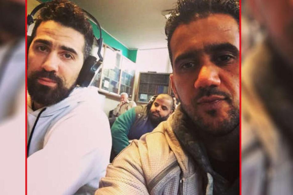 Bushido (40) und Arafat Abou-Chaker (42, re.) als sie noch Freunde und Geschäftspartner waren.