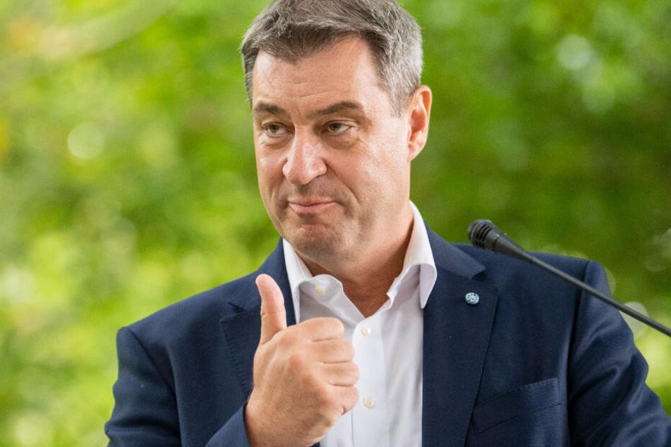 CSU-Politiker Markus Söder hat eine klare Meinung zur Maut-Debatte mit Österreich.