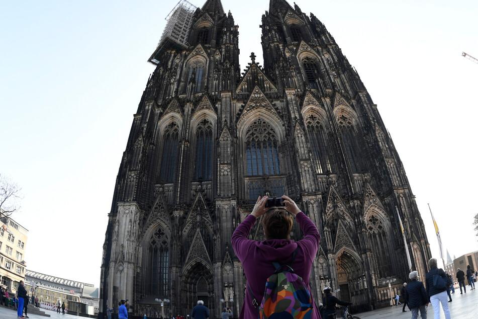 Das Wahrzeichen von Köln: der Dom.