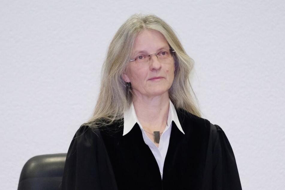 Die Vorsitzende Richterin Uda Schmidt.