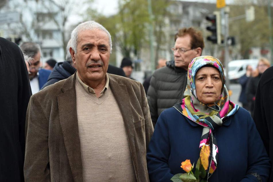 Auch die Eltern von Halit Yozgat waren vor Ort.