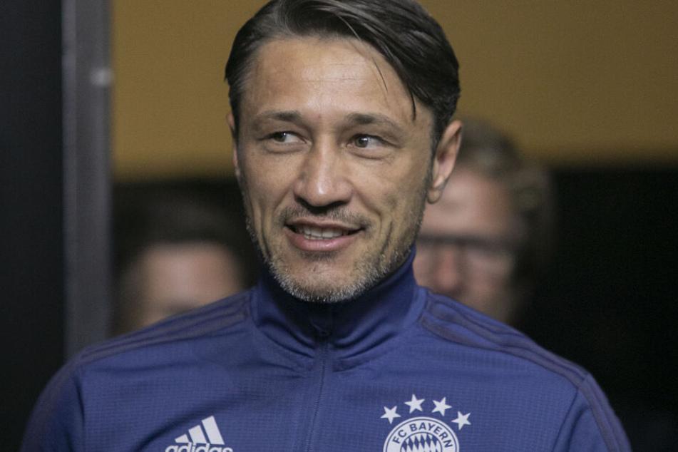 Niko Kovac, Trainer von FC Bayern München bei einer Pressekonferenz im Rahmen des International Champions Cups.