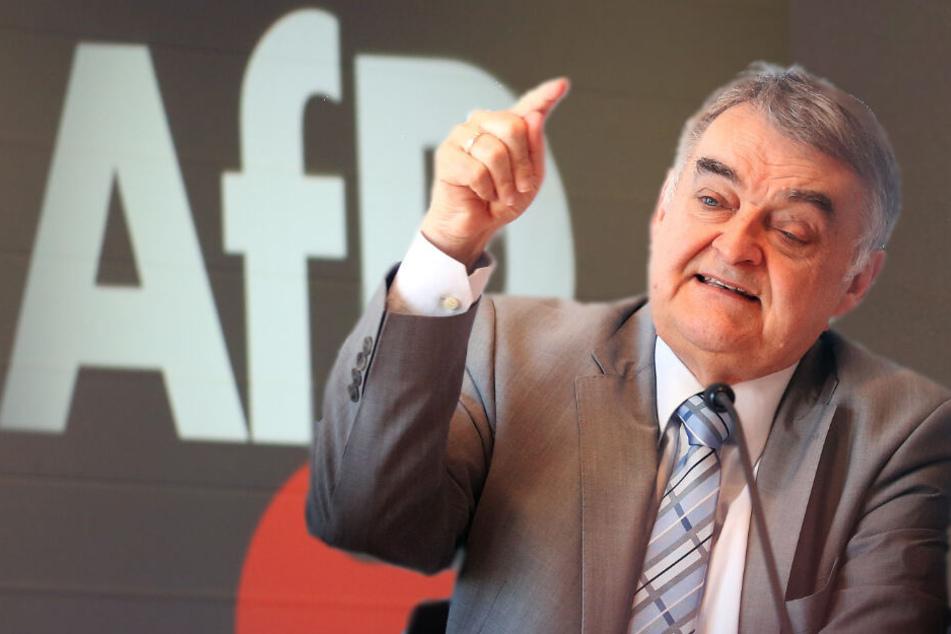 """Herbert Reul bezeichnet die Überprüfung der AfD durch den Verfassungsschutz als """"Warnschuss""""."""