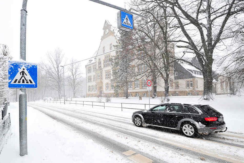 Chemnitz: Eltern fordern Ampel für Schulkinder