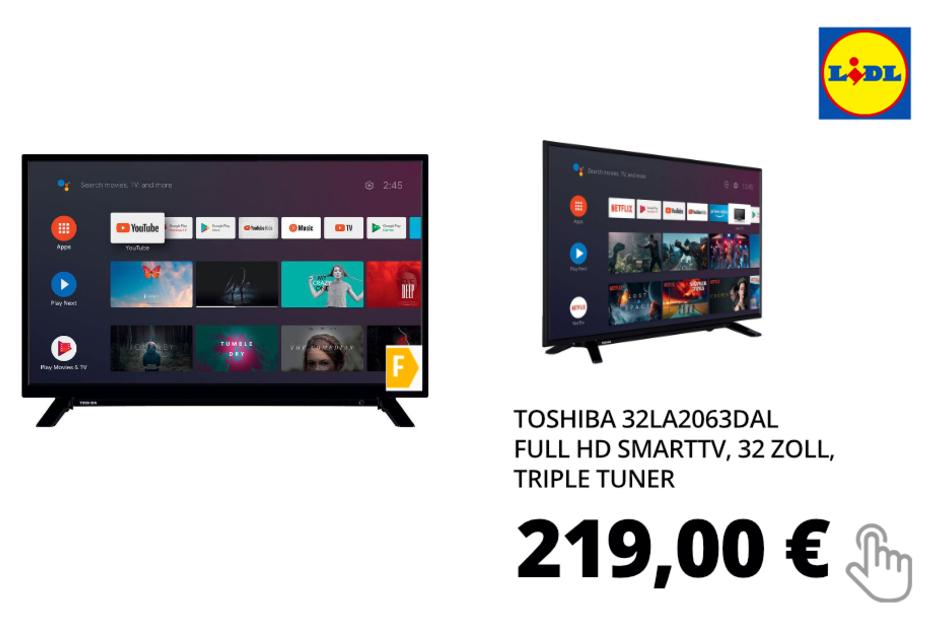 TOSHIBA Full HD SmartTV