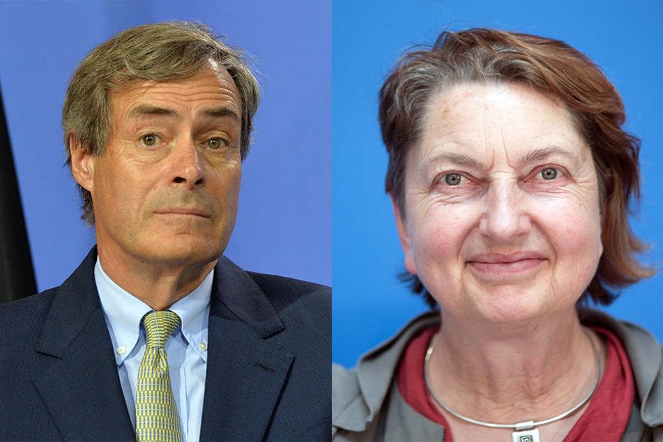 Ingo Kramer (links) und Annelie Buntenbach finden klare Worte für die AfD.