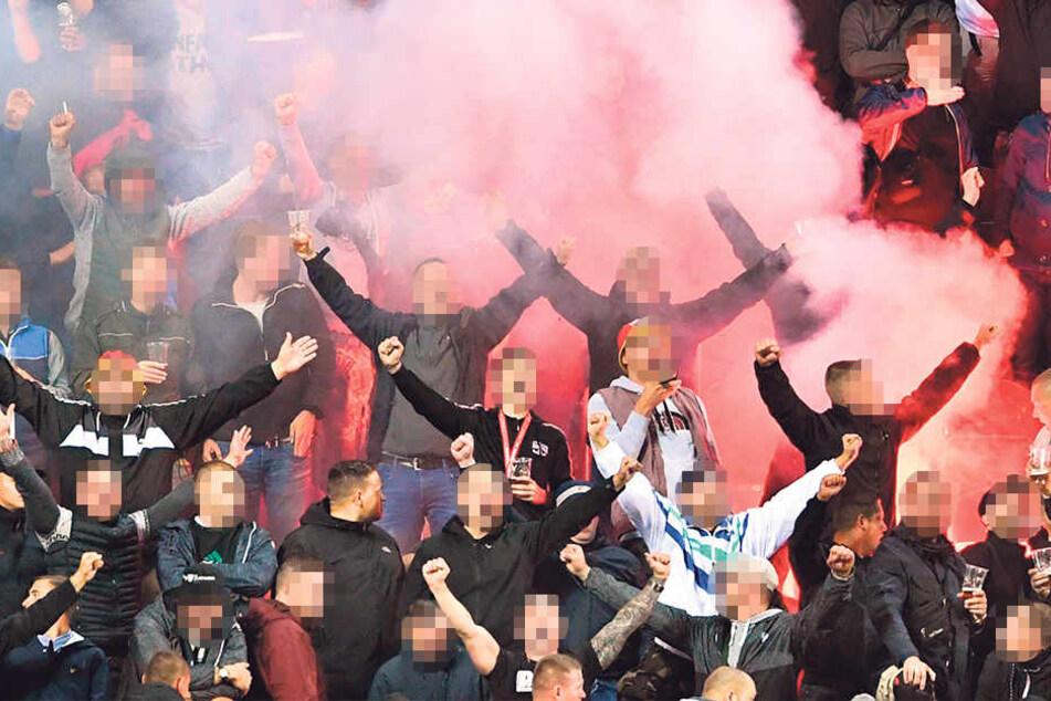 Nazi-Geschrei auf den Rängen störte den Fußballabend erheblich.