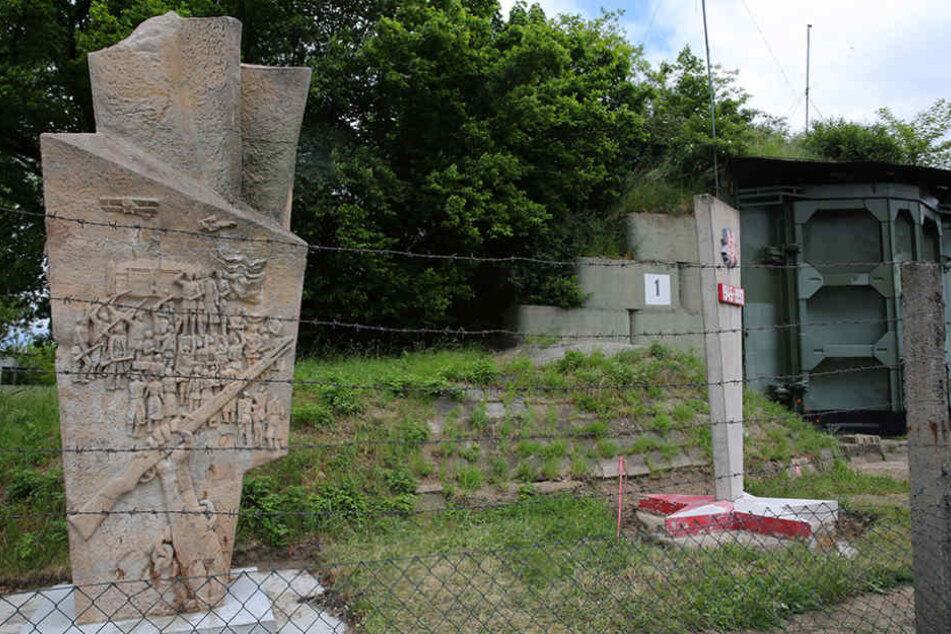 Wladimir Iljitsch Lenin bekam zum  100. Geburtstag von Großenhain ein Denkmal gebaut.