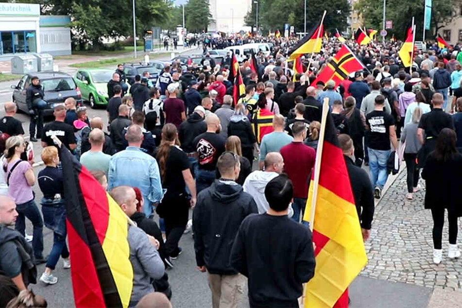 Erste Bilanz: So verliefen die Demos in Chemnitz