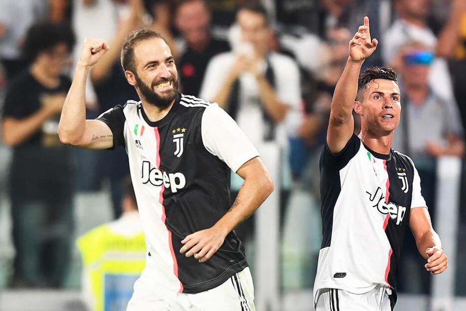 Irres Auf und Ab: So ringen CR7 und Juve Neapel in wahrem Fußballfest nieder!