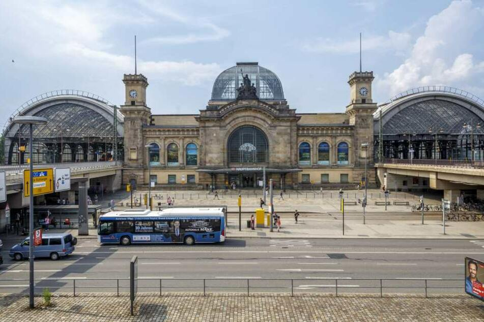 Feueralarm! Hauptbahnhof Dresden geräumt
