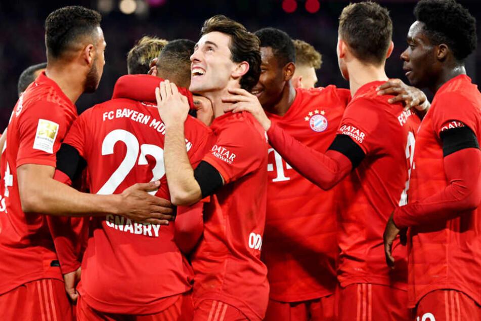 Grund zur Freude: Der FC Bayern München konnte den nächsten Sieg feiern.
