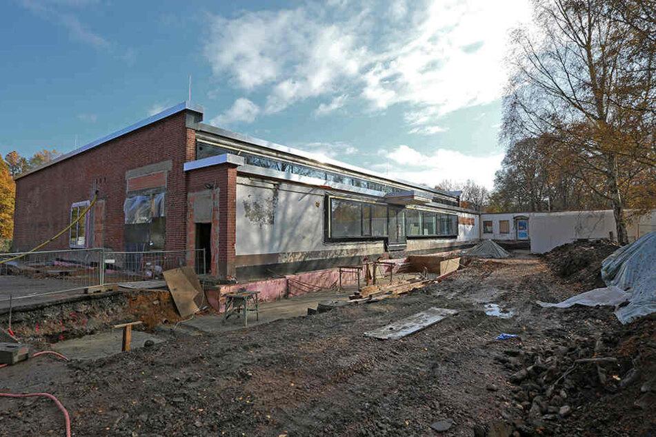 Das in den 1960er Jahren errichtete Erlenbad wird zum Kompetenzzentrum für  modernes Wohnen umgebaut. Kostenpunkt: 3,2 Millionen Euro.