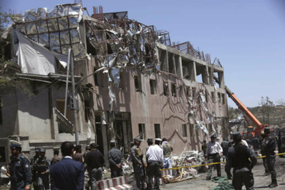 Der Bombenanschlag sollte dem Focus nach die Deutsche Botschaft in Kabul treffen.