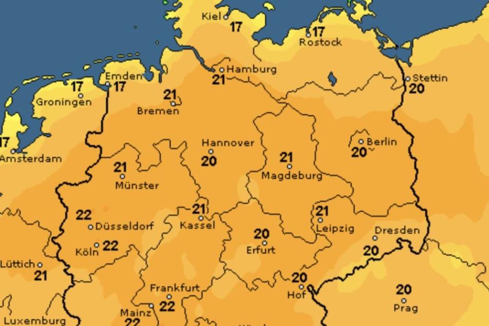 Es wird wärmer in Deutschland. Endlich :-)