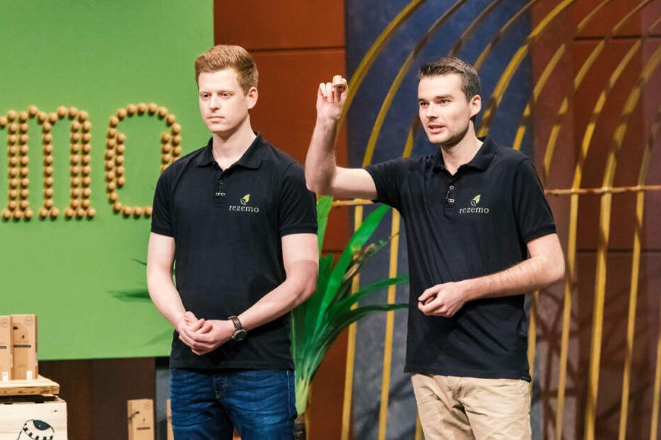 "Stefan Zender (links) und Julian Reitze von ""rezemo""."