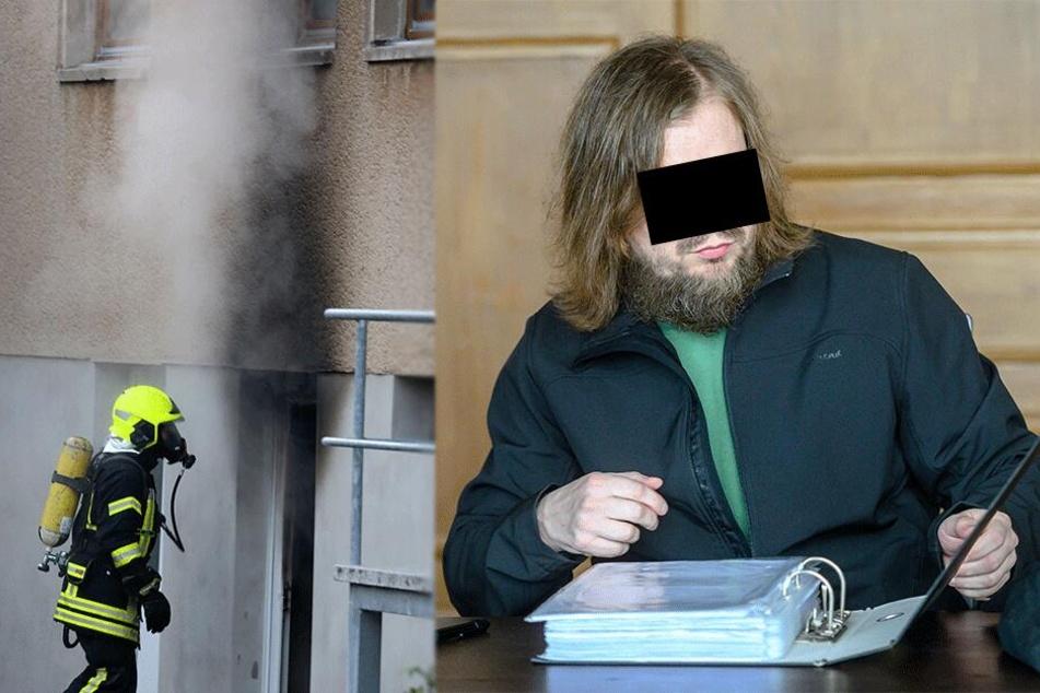 Explosion im Wohngebiet: Kellerzündler vor Gericht