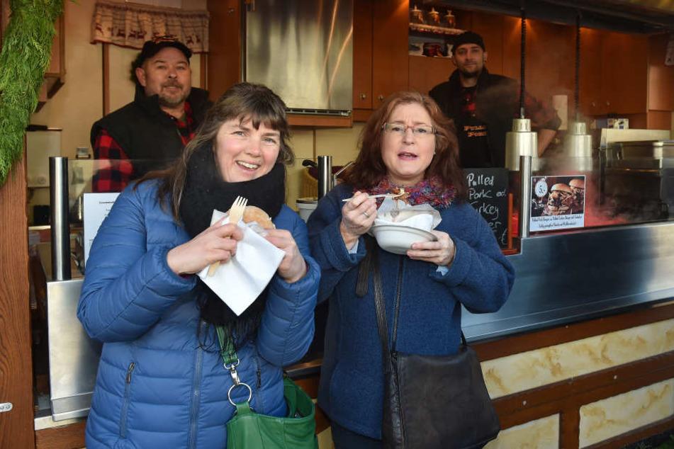 TAG24-Redakteurin Pia Lucchesi traf sich mit Ernährungsberaterin Tessa Rehberg auf dem Striezelmarkt.