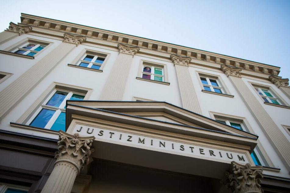Das NRW-Justizministerium in Düsseldorf.