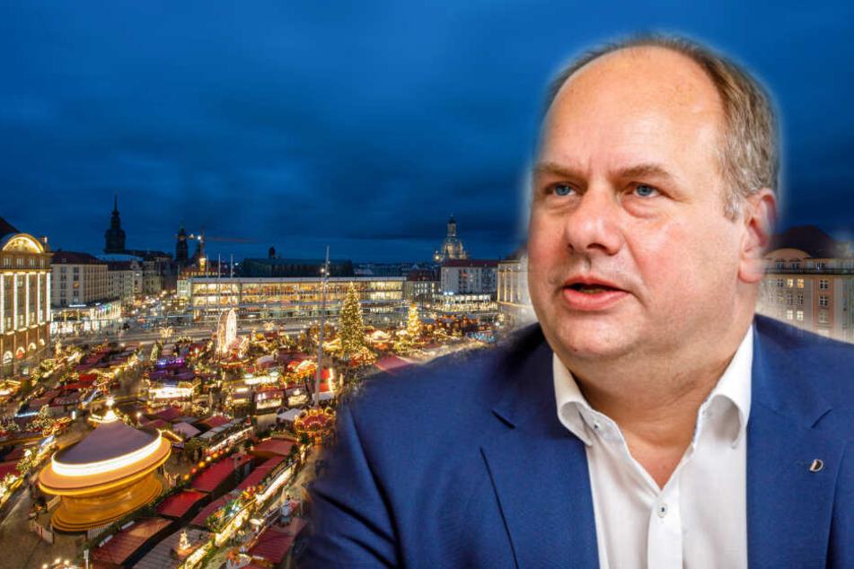 2025 Glühweine auf dem Striezelmarkt: OB Hilbert gibt heute einen aus!