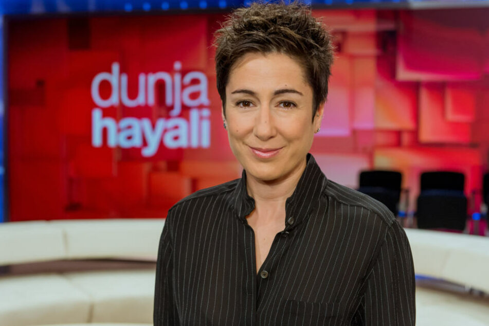 Einmal im Monat mittwochs... Dunja Hayali (44) im ZDF.