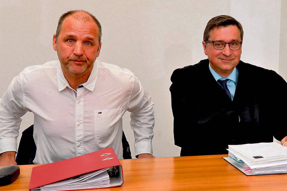 Steffen Ziffert (52) klagte gegen seine Kündigung, kassiert jetzt eine  Abfindung.