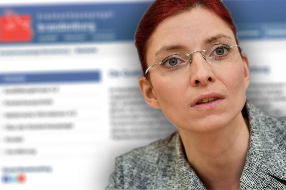 Stolz auf das neue Portal: Gesundheitsministerin Diana Golze.