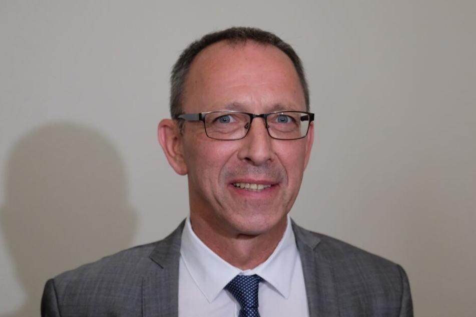 Jörg Urban (55) ist der AfD-Spitzenkandidat bei der Landtagswahl am 1. September.