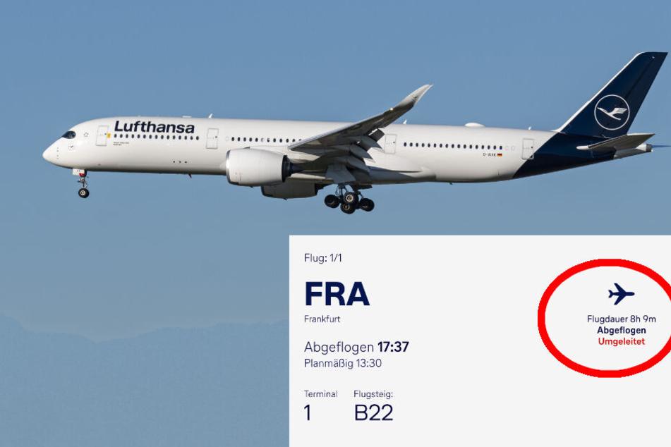 Wegen möglichem Raketen-Abschuss: Lufthansa-Flugzeug nach Teheran kehrt um