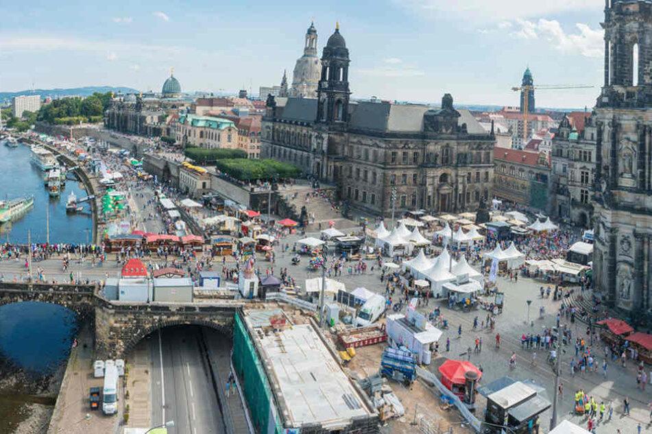 Beim Stadtfest wurde drei Tage lang weitgehend friedlich gefeiert.