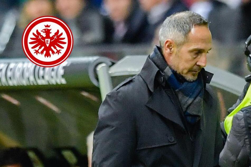 Eintracht-Coach Hütter muss bei Rückspiel in Mailand auf die Tribüne
