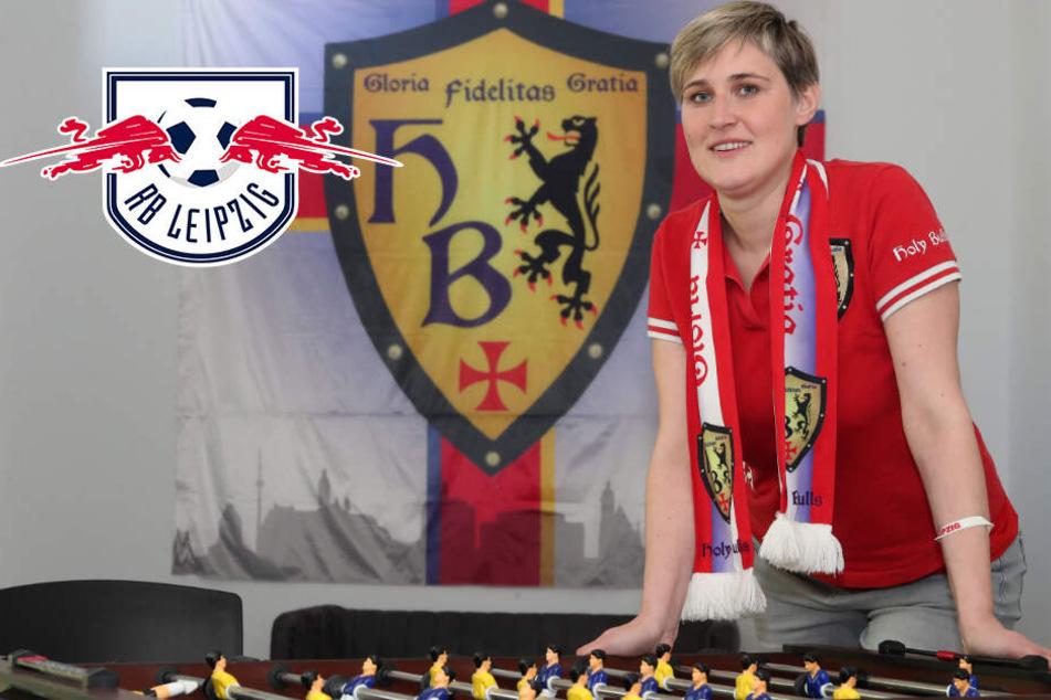 RB Leipzigs erster christlicher Fanclub: Sandra ist die gute Seele der Bullen