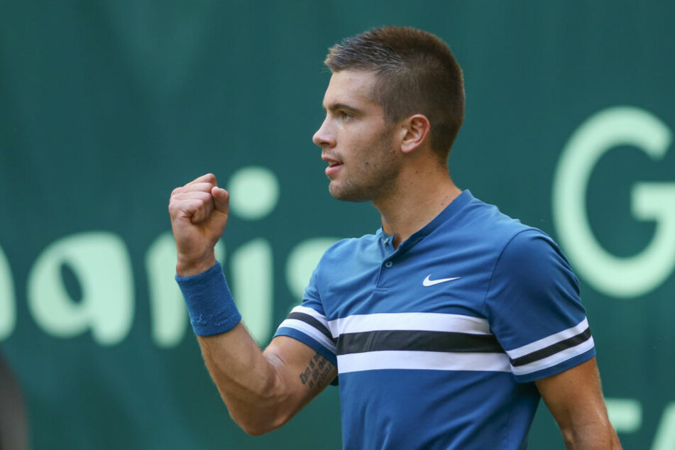 Der Kroate Borna Coric ist Federers Final-Gegner.