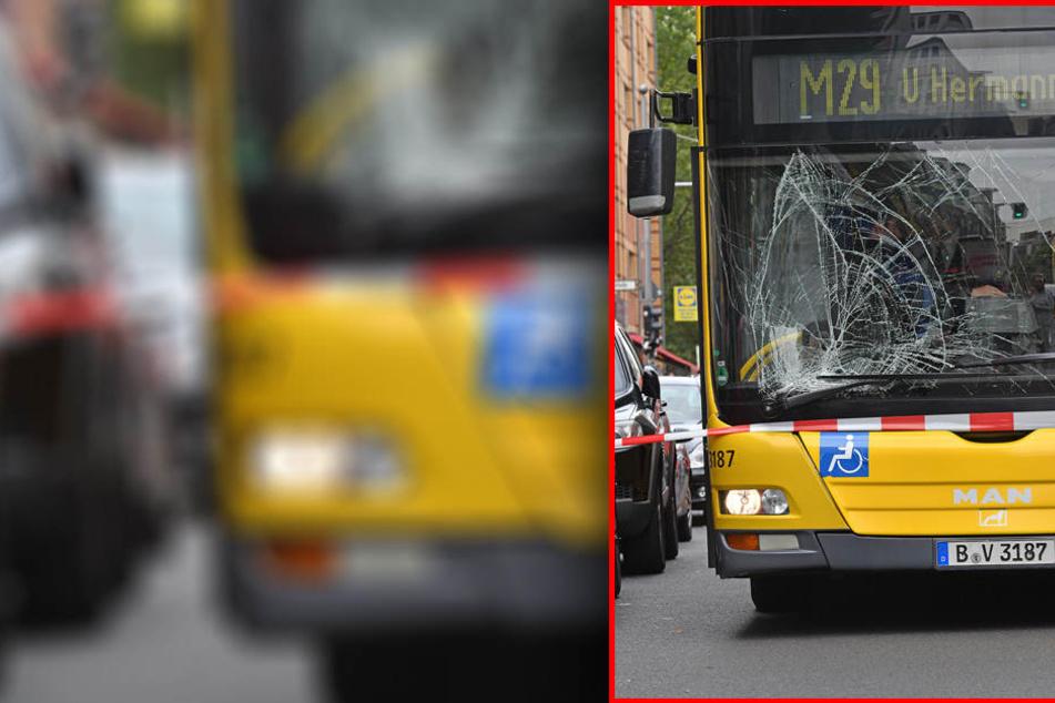 Ob der Busfahrer oder Fahrgäste verletzt wurden, ist bislang nicht bekannt.