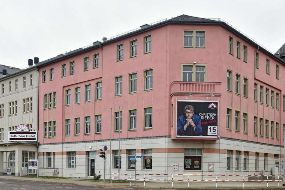 Zur Tatzeit im ersten Halbjahr 2018 saß der Verein im Kulturhaus Freital.