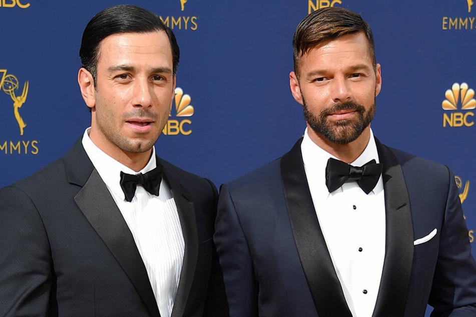 Ricky Martin (47, r.) und Jwan Yosef (35) werden erneut Eltern.