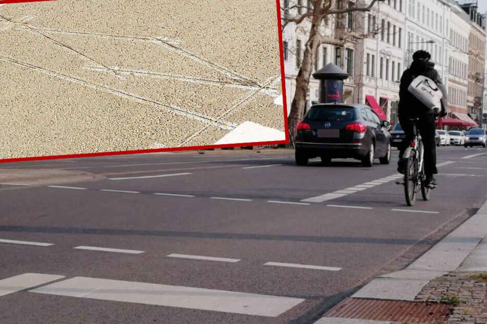 Neue Messstelle auf der Karli: Wie viele Radler brettern hier täglich lang?