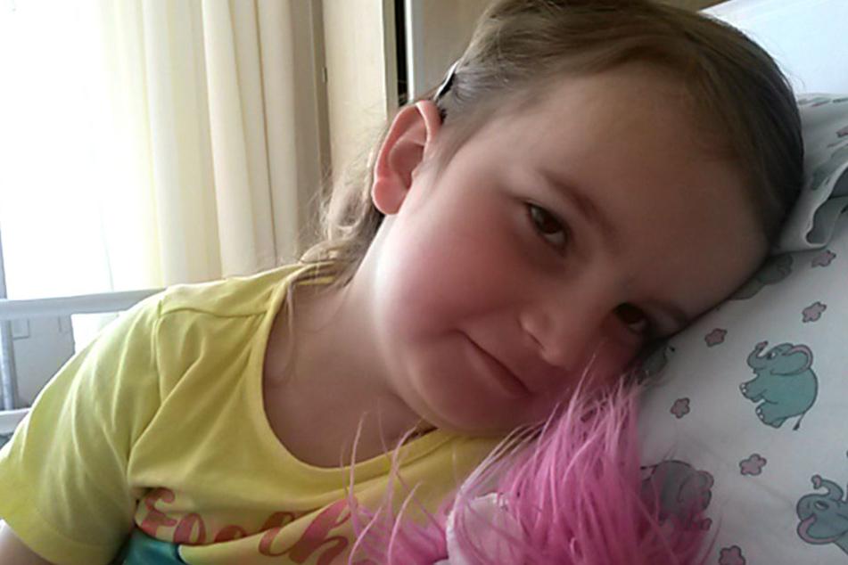 Tragisches Schicksal: Mila ist erst fünf und muss bald sterben