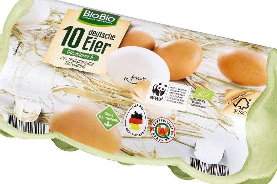 Die Firma Eifrisch warnt vor bestimmten Eiern der Marke BioBio.