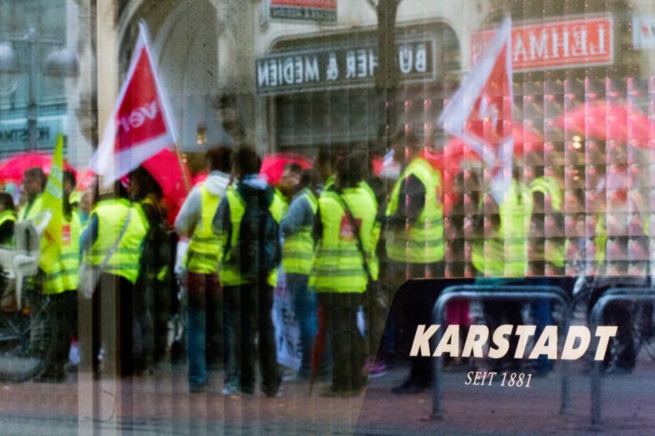 Warnstreik bei Karstadt und Kaufhof: Diese Geschäfte sind betroffen