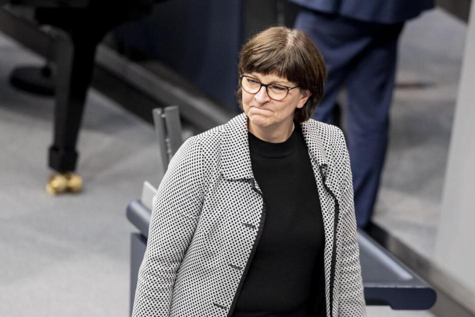 Saskia Esken, Bundesvorsitzende der SPD.