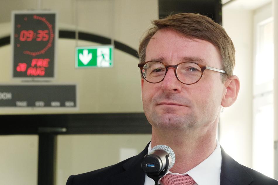 Roland Wöller (CDU), Innenminister des Bundeslandes Sachsen.