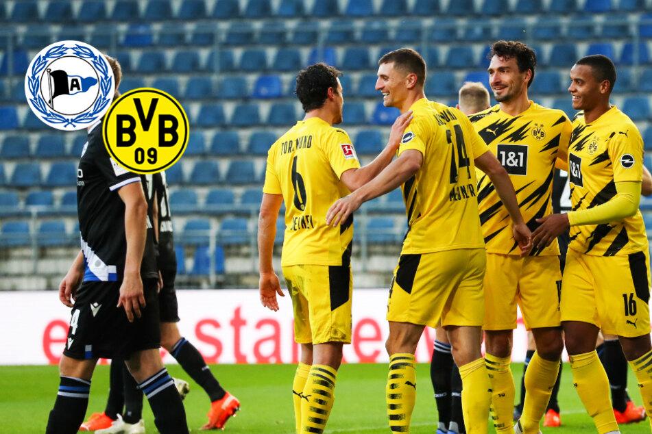 Doppelpack Mats Hummels! Abwehrchef führt BVB bei Arminia Bielefeld zum Dreier