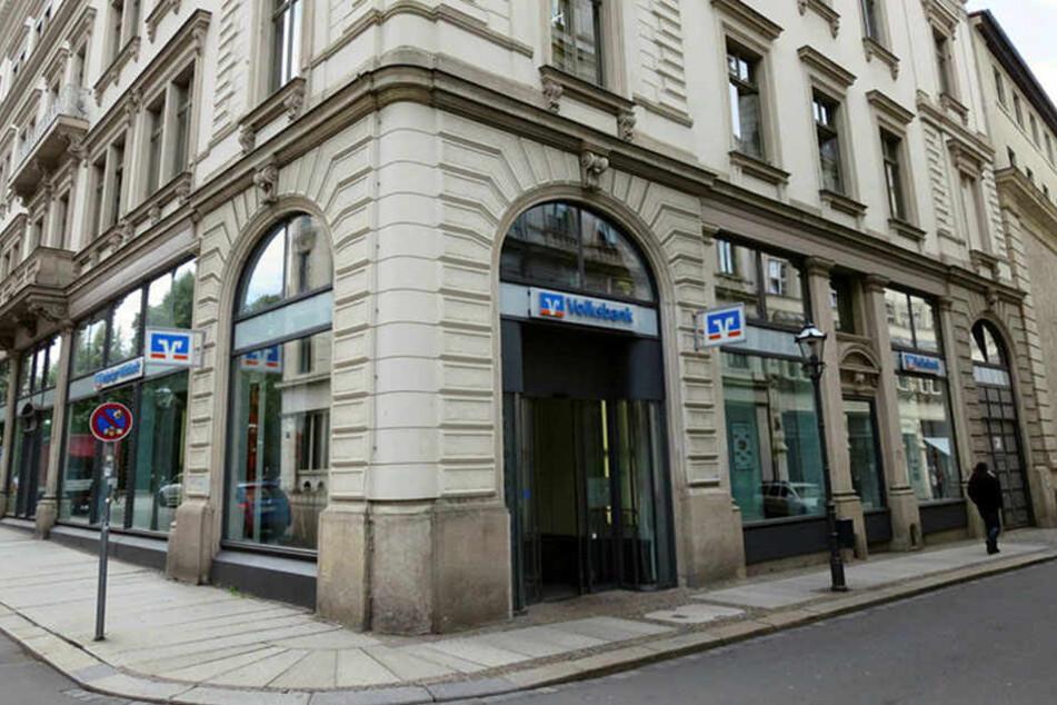 """Die Leipziger Volksbank-Zentrale. Hier führte ein Mitarbeiter bis zu seiner Entlassung im März 2016 eine illegale """"Parallel-Bank""""."""
